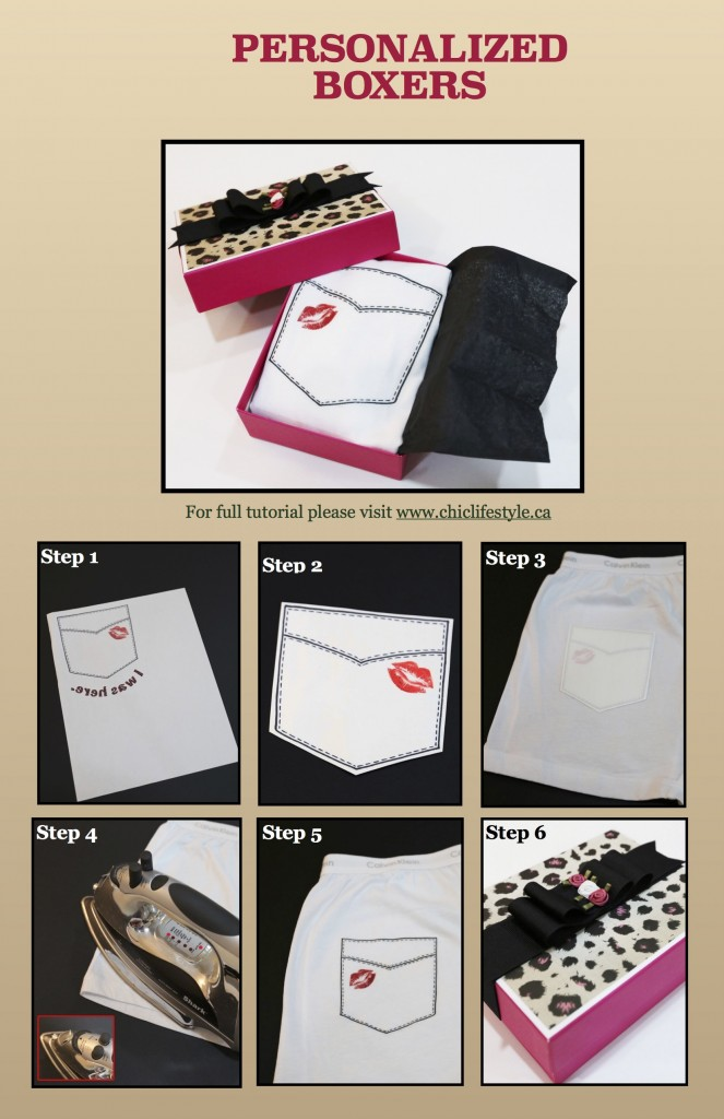 personalized boxers steps